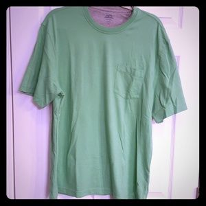 Izod Saltwater green pocketed tshirt